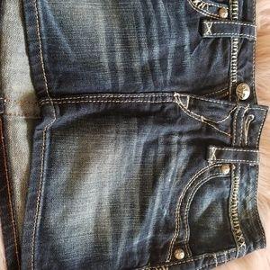 Rock revival skirt